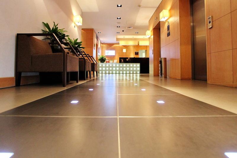 Holiday Inn Express Redditch-Elevator Lobby 1<br/>Image from Leonardo