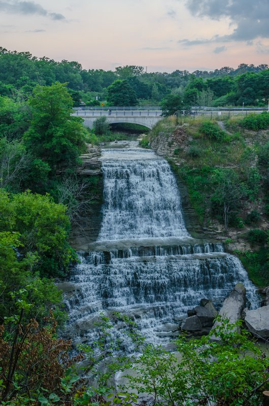 Staybridge Suites Hamilton - Downtown-Albion Falls/King's Forest Walk to Red Hill Valley Rec Trail<br/>Image from Leonardo