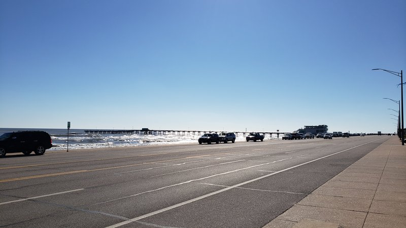 Holiday Inn Express and Suites Galveston Beach-Jimmy's on the Pier within walking distance<br/>Image from Leonardo