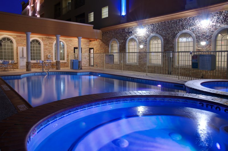 Holiday Inn Express & Suites Galveston West-Seawall-Swimming Pool<br/>Image from Leonardo