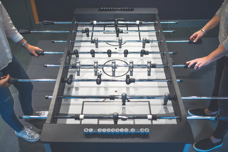 Holiday Inn Helsinki City Centre-Play with table football or select your favorite from board games.<br/>Image from Leonardo
