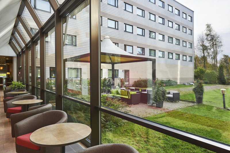 Holiday Inn Helsinki - Vantaa Airport-Our hotel's back yard offers sunny and comfortable terrace area.<br/>Image from Leonardo