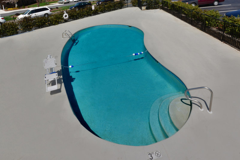 Holiday Inn Express Lynchburg-Our guests love a quick swim before heading to Liberty University<br/>Image from Leonardo