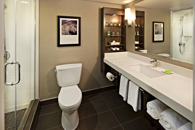 Delta Hotel Calgary South-Deluxe Guest Bathroom<br/>Image from Leonardo