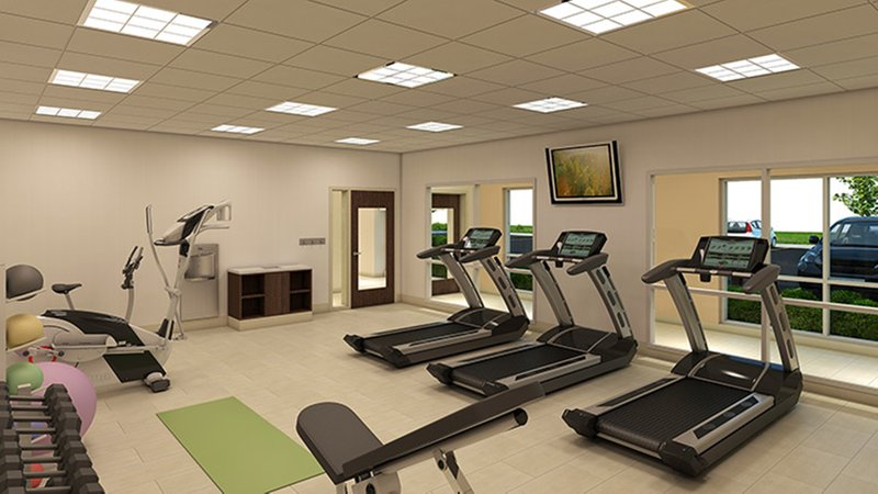 Holiday Inn Express & Suites Odessa I-20-Complimentary 24 hour Fitness Center-Cardio Machines, Free Weights<br/>Image from Leonardo