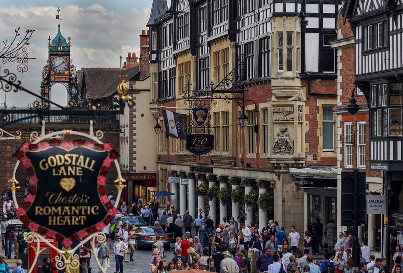 Crowne Plaza Chester-Eastgate Clock<br/>Image from Leonardo