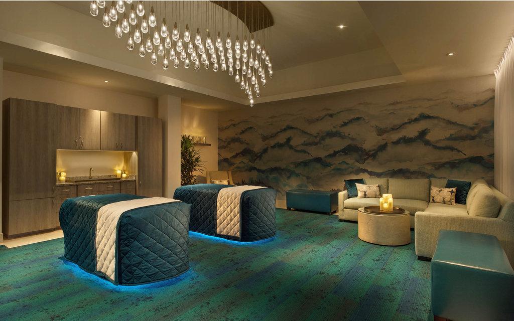 Bellagio - Bellagio Spa Suite Massage Chairs <br/>Image from Leonardo
