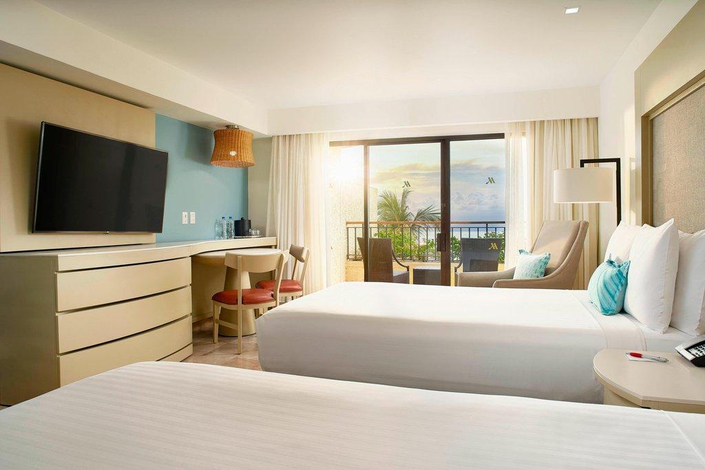 Marriott Puerto Vallarta Resort & Spa - Double/Double Ocean View Guest Room <br/>Image from Leonardo