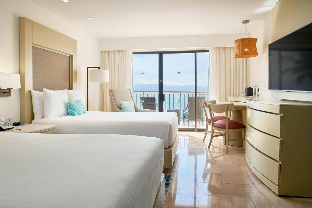Marriott Puerto Vallarta Resort & Spa - Double/Double Oceanfront Guest Room <br/>Image from Leonardo