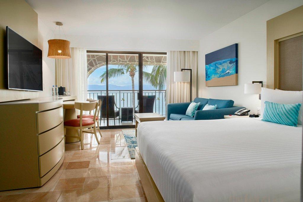 Marriott Puerto Vallarta Resort & Spa - King Ocean Front Guest Room <br/>Image from Leonardo