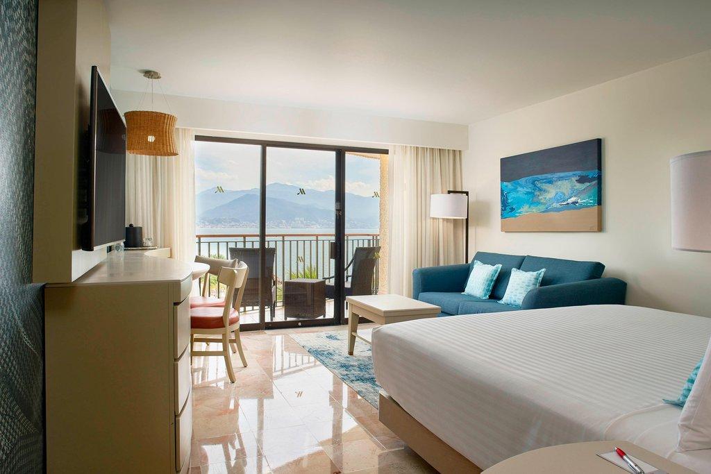 Marriott Puerto Vallarta Resort & Spa - King Pool View Guest Room <br/>Image from Leonardo