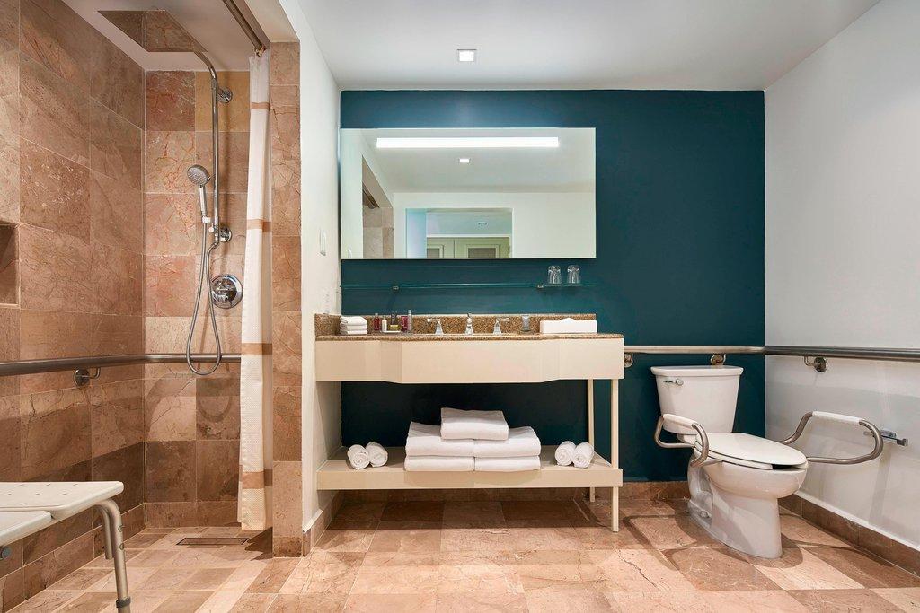 Marriott Puerto Vallarta Resort & Spa - Accessible Bathroom <br/>Image from Leonardo