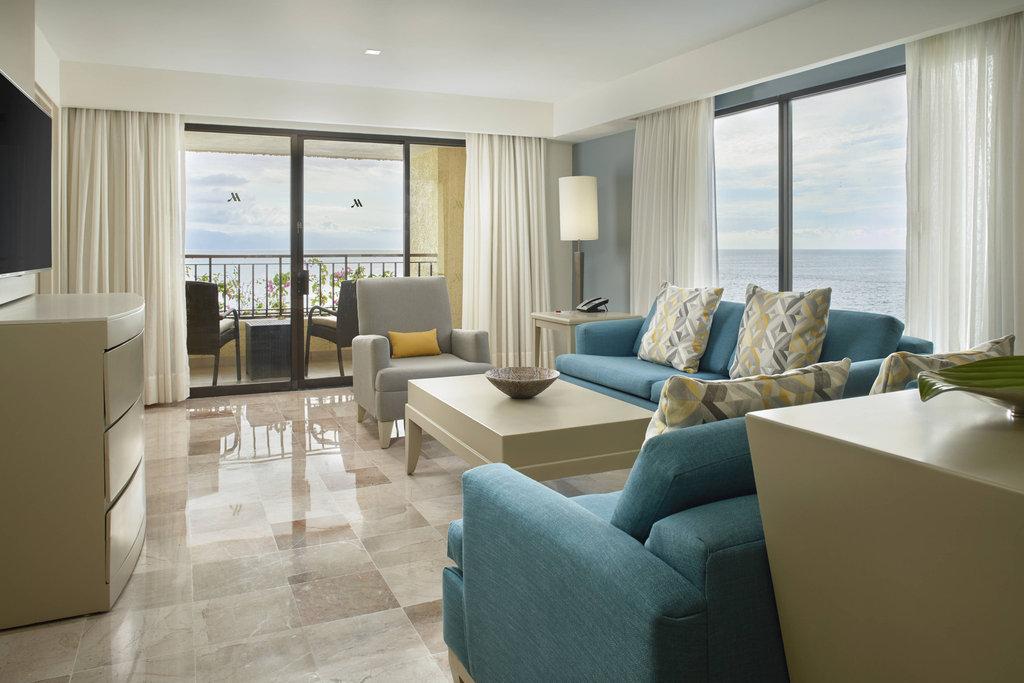 Marriott Puerto Vallarta Resort & Spa - Governor Suite - Living Room <br/>Image from Leonardo