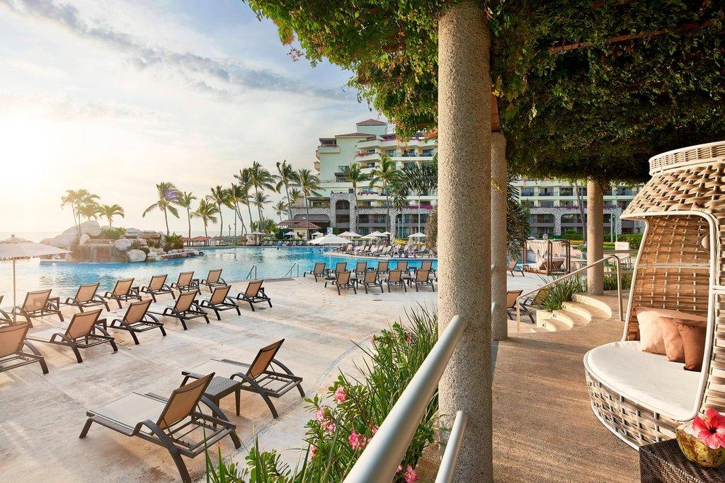 Marriott Puerto Vallarta Resort & Spa - Pool Deck <br/>Image from Leonardo
