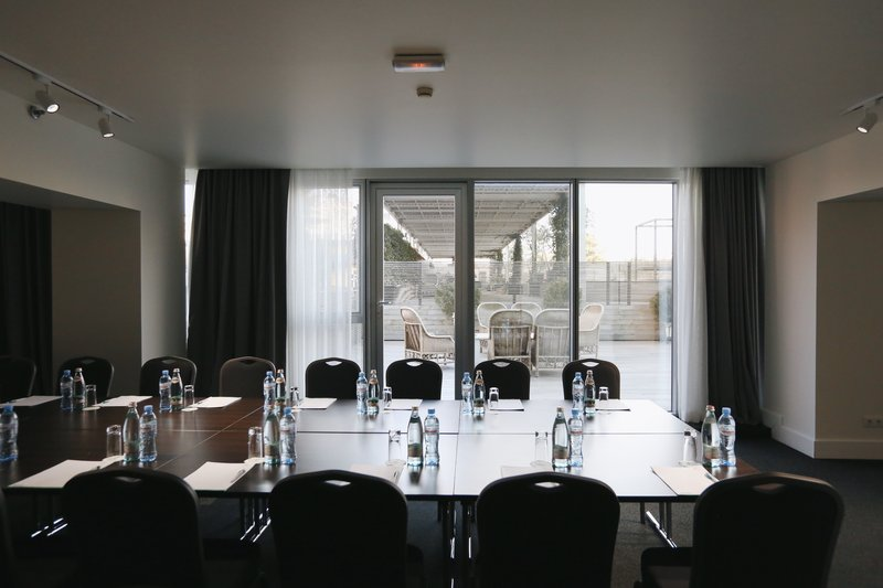 Holiday Inn Tbilisi-Terrace Room - accommodates up to 50 Pax.<br/>Image from Leonardo