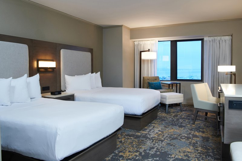Hilton Anchorage-Deluxe Double Room<br/>Image from Leonardo