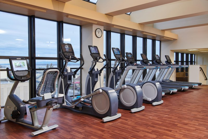Hilton Anchorage-Cardio Section of Fitness Center<br/>Image from Leonardo