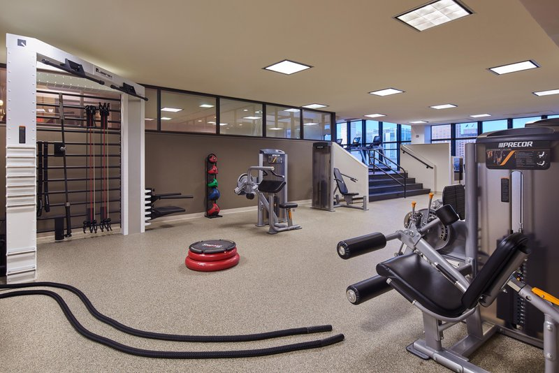 Hilton Anchorage-Gym Section of Fitness Center<br/>Image from Leonardo