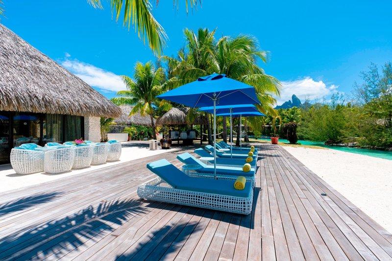 St Regis Resort Bora Bora - Royal Estate Exterior <br/>Image from Leonardo