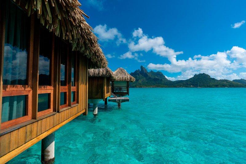 St Regis Resort Bora Bora - Deluxe Overwater Exterior Guest Room <br/>Image from Leonardo