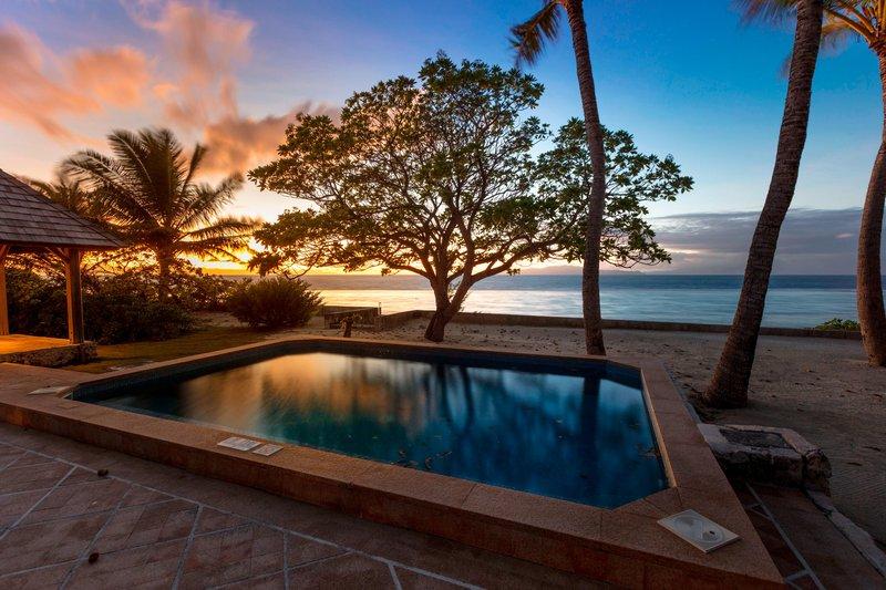 St Regis Resort Bora Bora - Garden Reef Side Villa Guest Room <br/>Image from Leonardo