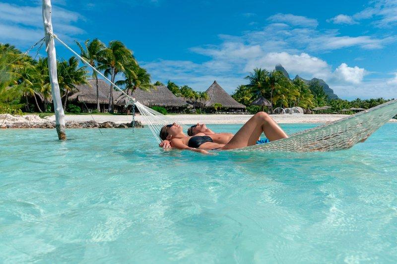 St Regis Resort Bora Bora - Main Beach Model <br/>Image from Leonardo