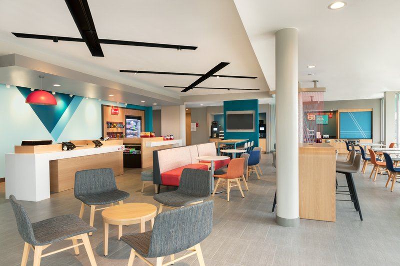 Avid Hotel Oklahoma City Airport-Inviting lobby with versatile seating<br/>Image from Leonardo