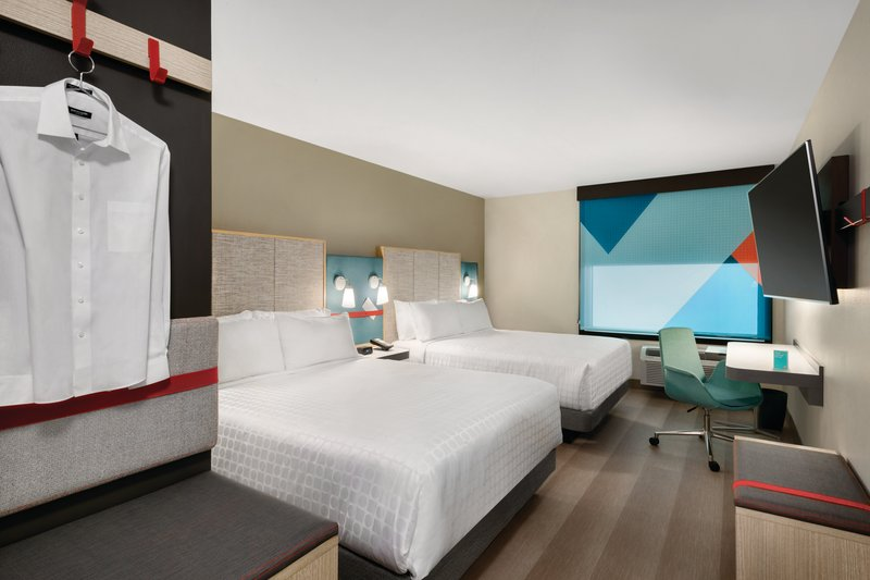 Avid Hotel Oklahoma City Airport-2 Queen Room<br/>Image from Leonardo