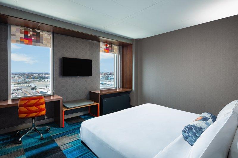 Aloft Boston Seaport-Aloft King Room<br/>Image from Leonardo