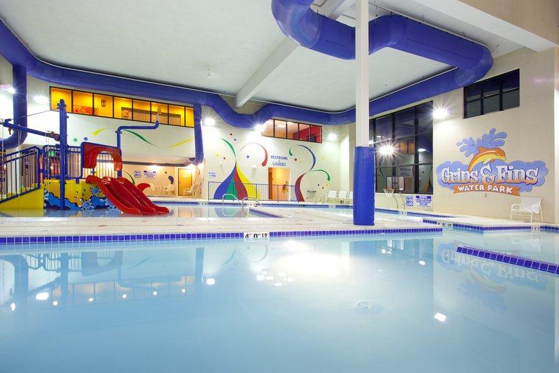 Holiday Inn Express & Suites Salt Lake City West Valley-Splash around in our indoor Grins & Fins Water Park<br/>Image from Leonardo