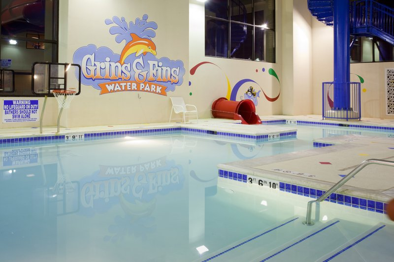 Holiday Inn Express & Suites Salt Lake City West Valley-Indoor Water Park featuring a 165' Waterslide<br/>Image from Leonardo