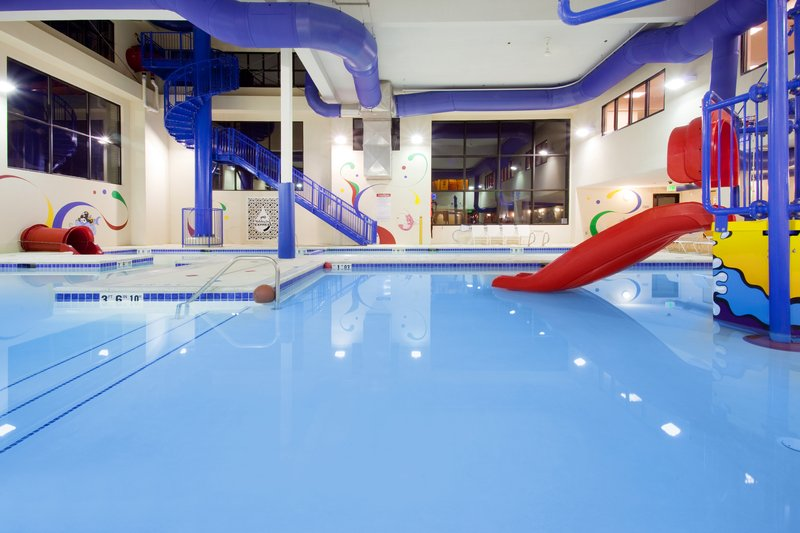 Holiday Inn Express & Suites Salt Lake City West Valley-Grins & Fins Water Park with Wet & Wild Jungle Gym<br/>Image from Leonardo