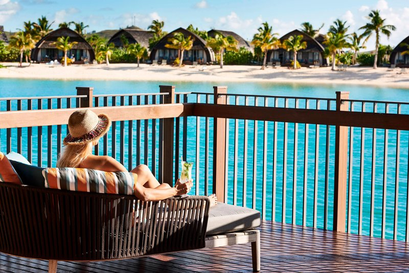 Fiji Marriott Resort Momi Bay-Over-Water Royal Suite - Deck<br/>Image from Leonardo