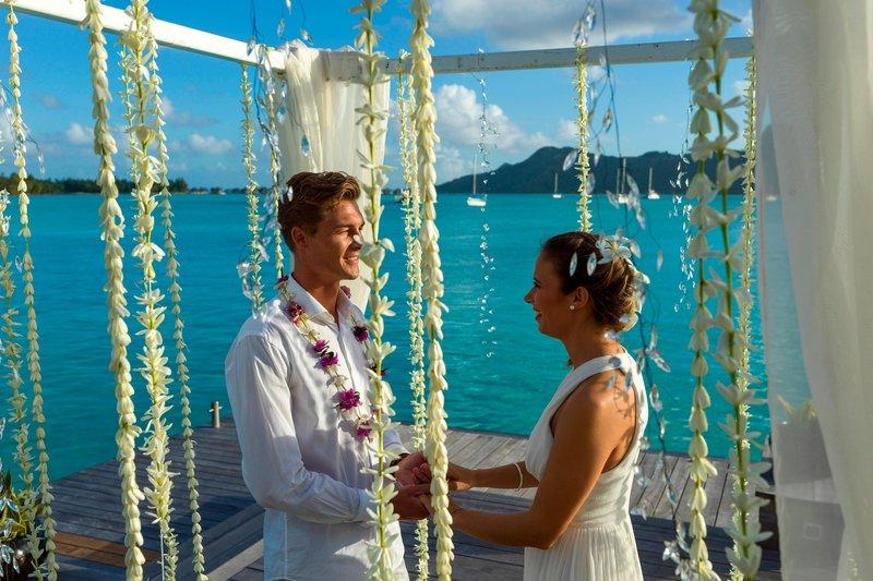 St Regis Resort Bora Bora - Wedding <br/>Image from Leonardo
