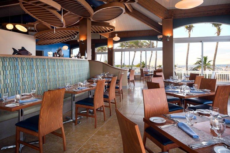 St. Kitts Marriott Resort-Blu Restaurant<br/>Image from Leonardo