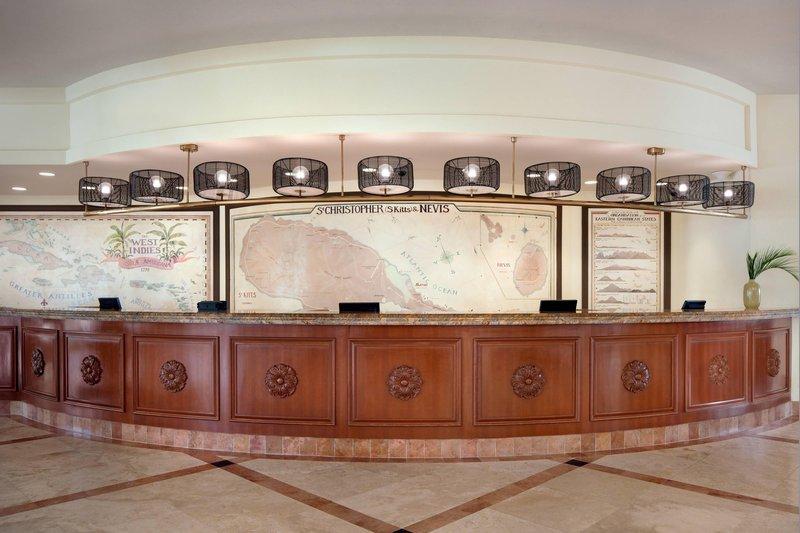 St. Kitts Marriott Resort-Front Desk<br/>Image from Leonardo