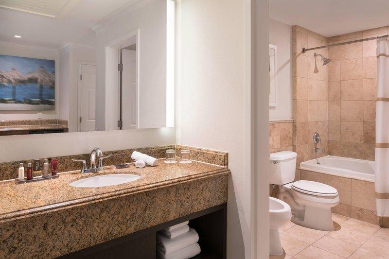 St. Kitts Marriott Resort-Guest Room - Bathroom<br/>Image from Leonardo