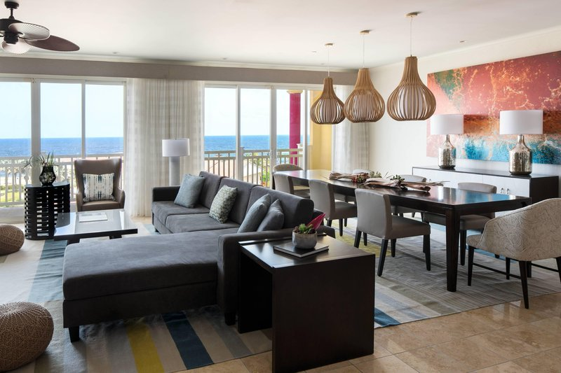 St. Kitts Marriott Resort-Presidential Suite - Living Area & Dining Area<br/>Image from Leonardo