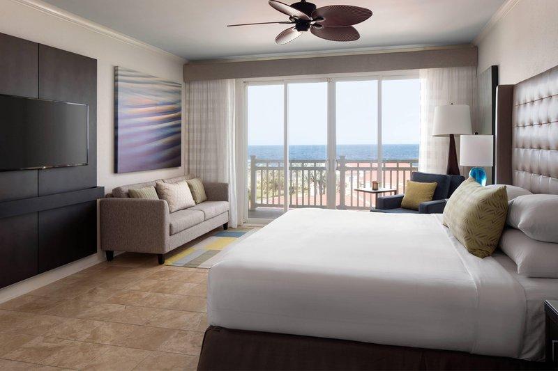 St. Kitts Marriott Resort-Presidential Suite - Bedroom<br/>Image from Leonardo