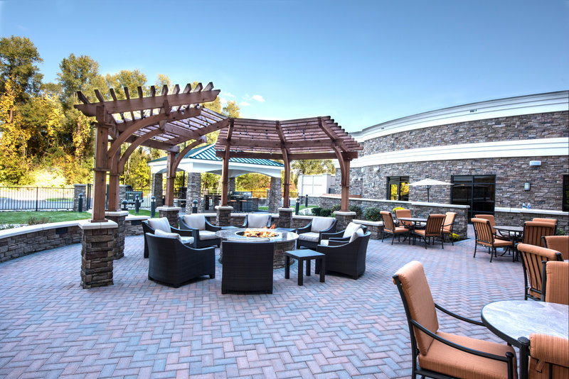 Staybridge Suites Albany Wolf Rd - Colonie Center-Patio<br/>Image from Leonardo