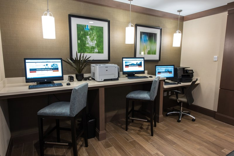 Staybridge Suites Albany Wolf Rd - Colonie Center-Business Center 2<br/>Image from Leonardo