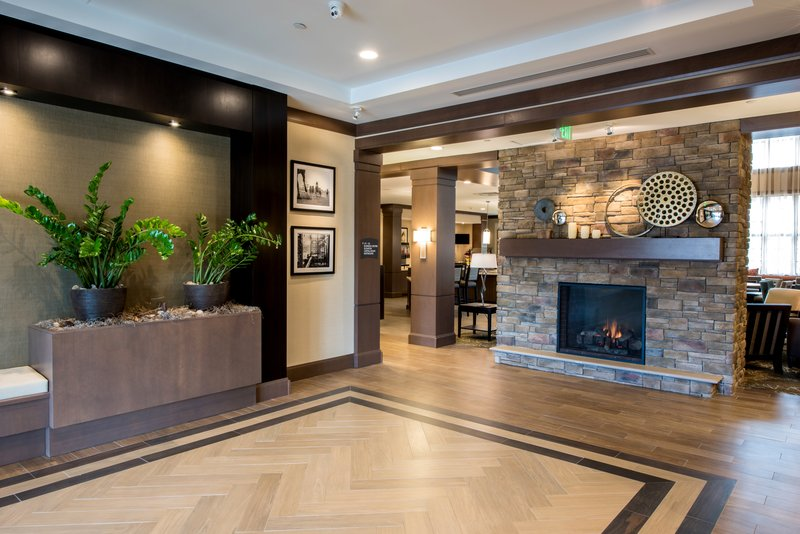Staybridge Suites Albany Wolf Rd - Colonie Center-Lobby Fireplace<br/>Image from Leonardo