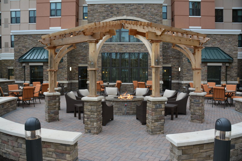Staybridge Suites Albany Wolf Rd - Colonie Center-Courtyard<br/>Image from Leonardo