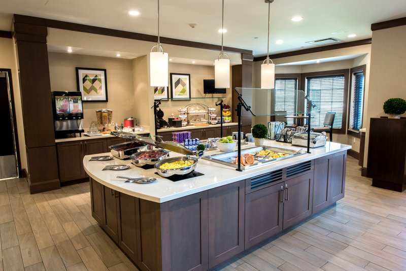 Staybridge Suites Albany Wolf Rd - Colonie Center-Breakfast Bar<br/>Image from Leonardo