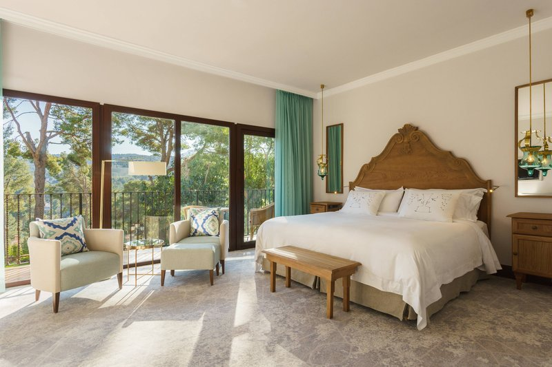 Castillo Hotel Son Vida; a Luxury Collection Hotel-Classic Room with Terrace<br/>Image from Leonardo