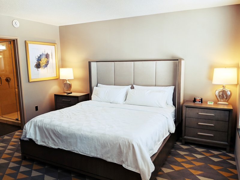 Holiday Inn Ft. Wayne-IPFW & Coliseum-Chancellor Suite Bedroom<br/>Image from Leonardo
