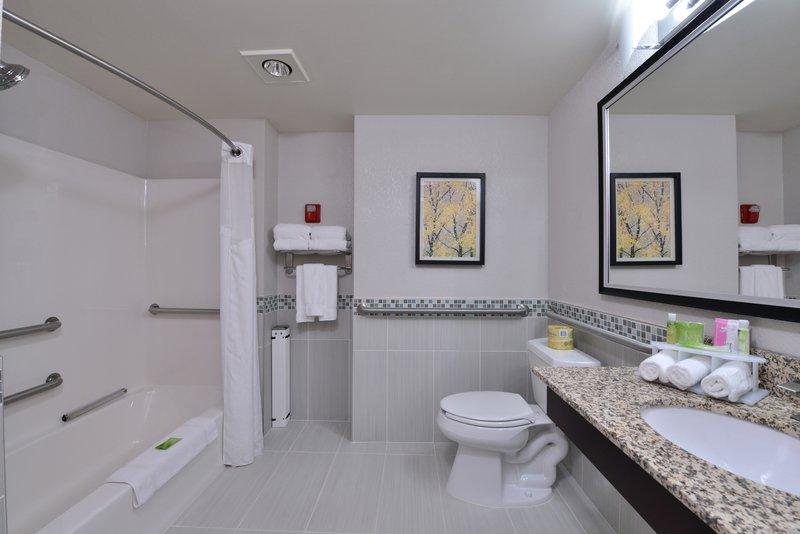 Holiday Inn Express & Suites Milwaukee-New Berlin-Guest Bathroom<br/>Image from Leonardo
