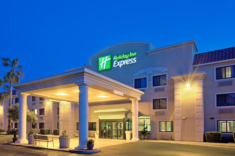 Holiday Inn Express Tucson-Airport-Nearby businesses feature Flight Safety, Raytheon, Rainbird<br/>Image from Leonardo
