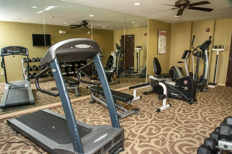 Holiday Inn Express Tucson-Airport-Fitness Center<br/>Image from Leonardo