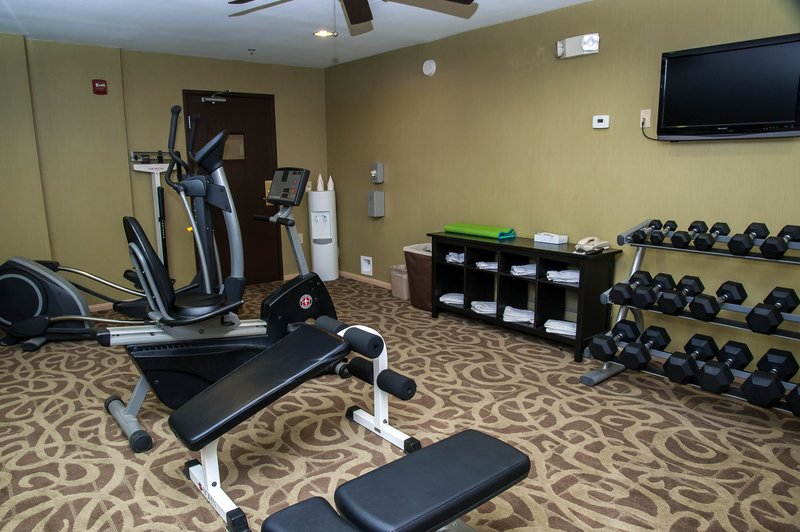 Holiday Inn Express Tucson-Airport-Sneak in the workout after that long flight.<br/>Image from Leonardo